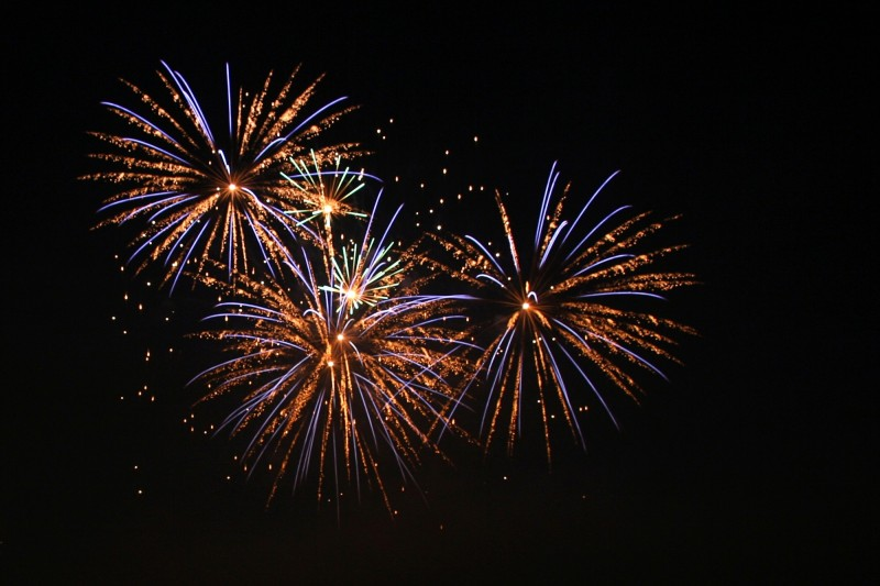 Burnham Week – Fireworks
